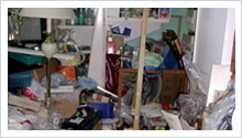 Nettoyage et désinfection syndrome de diogène